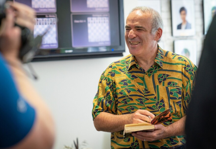 While he did not perform as well as he hoped, Kasparov scored some nice wins on day four of the 2019 Champions Showdown.