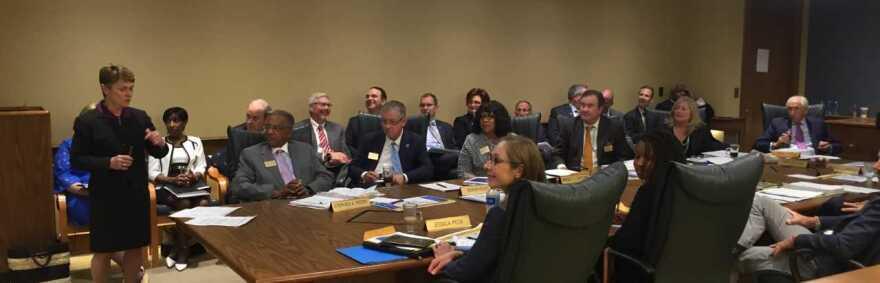 Kent State board of trustees meeting