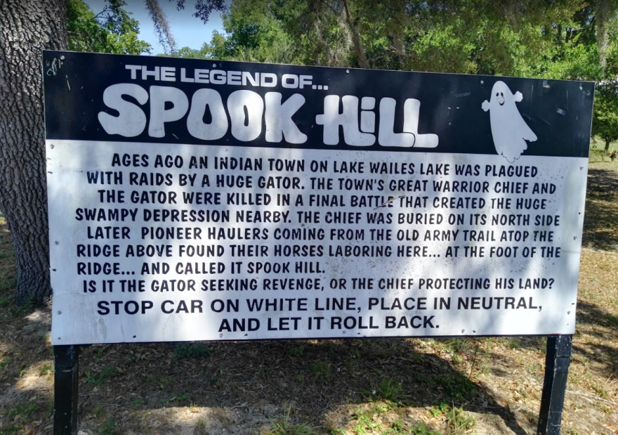 Spook Hill in Lake Wales has been added to the National Register of Historic Places.