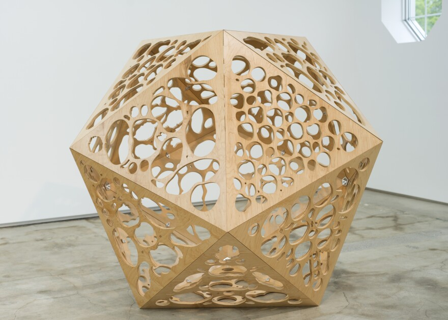 """Icosahedral Body"" (2013)."