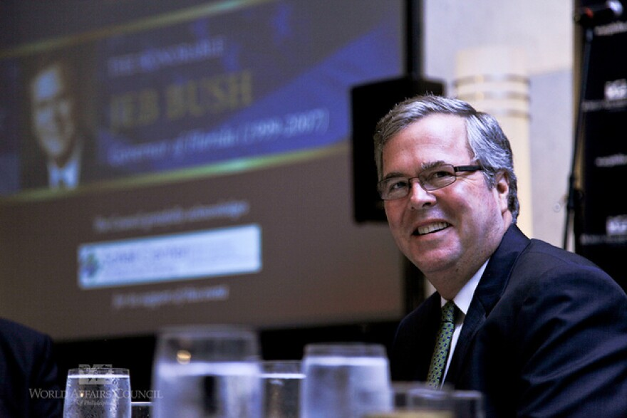 The education foundation started by Jeb Bush has released a list of donors.