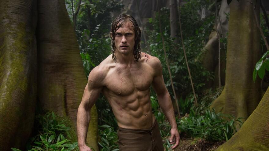 """Tarzan serve Blue Steel! Want tell you about Tarzan's paleo regimen!"": Alexander Skarsgard in <em>The Legend of Tarzan</em>."