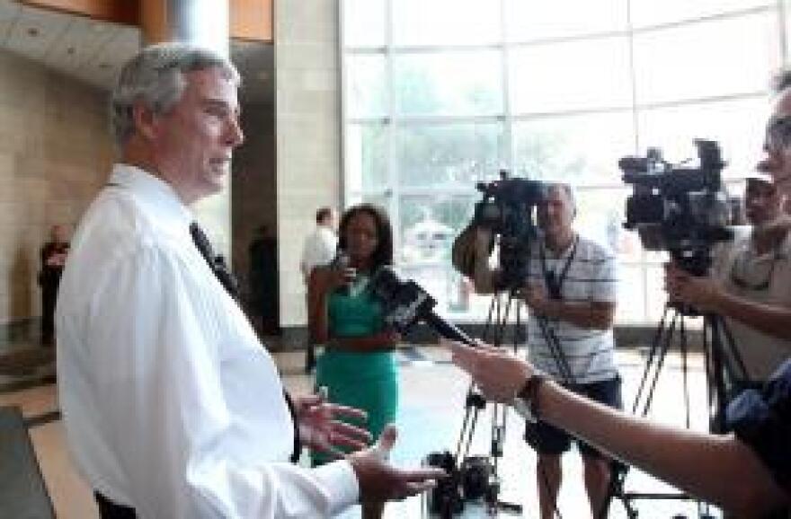 St. Louis Prosecuting Attorney Bob McCulloch