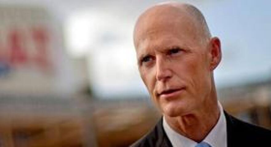 Gov. Rick Scott is returning to familiar territory, Connecticut, to recruit businesses and jobs for the Sunshine State.