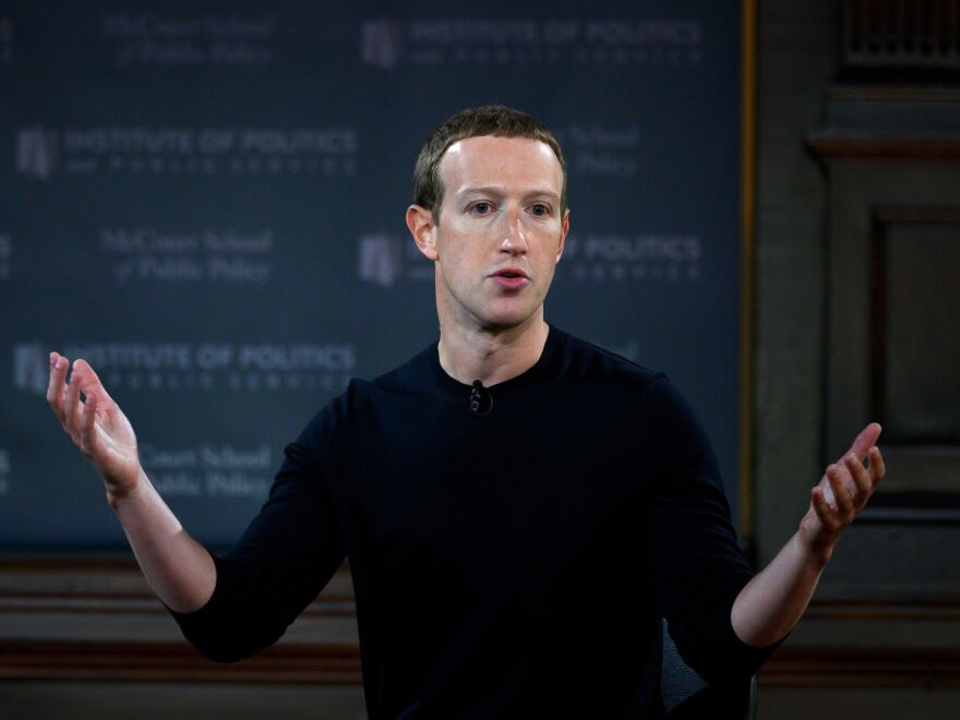 CEO Mark Zuckerberg is under pressure from former and current employees who are frustrated with his lack of action on the president's posts.