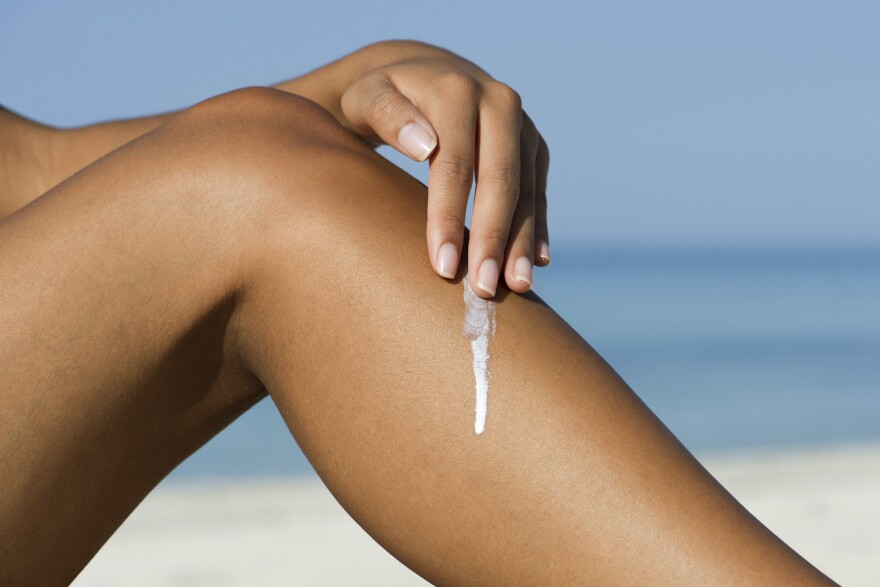 Some sunscreen ingredients are absorbed into your bloodstream. It's not clear how much of a health concern this is, if any, but the FDA is calling for more research.