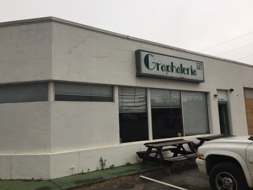 Photo of the Graphateria building in Tallahassee