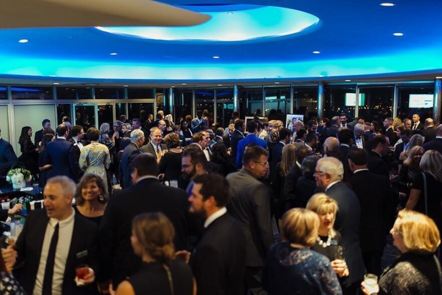 Guests mingle at the 2018 Strategy Across the Board Gala.