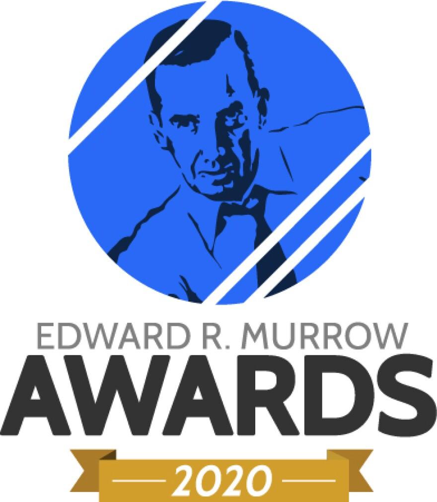 Edward R. Murrow awards 2020 logo