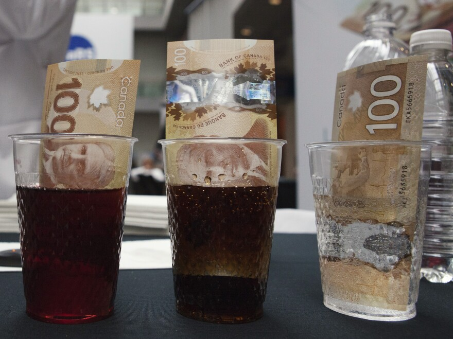 Made from plastic, Canadian $100 bills are resistant to liquids and tearing. But are they better than cotton-based bills at keeping dangerous bacteria at bay?