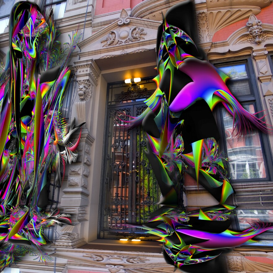 Lucas Samaras, <em>Untitled,</em> 2008-2020, inkjet print
