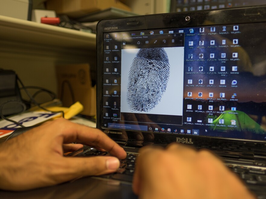 Anil Jain and his team have created a computer program to digitally enhance fingerprints for use with fingerprint detection technology.