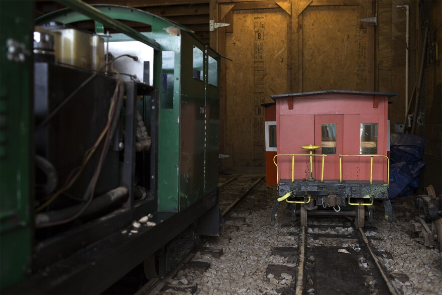 The Wabash, Frisco and Pacific Railroad Association boasts both mini steam and diesel engines, which pull the passenger cars that have delighted adults and kids in the St. Louis area for decades.