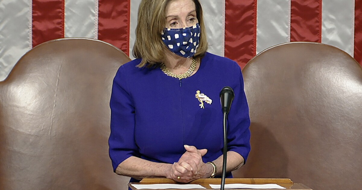 Pelosi Reconvenes The U.S. House: 'Our Purpose Will Be ...