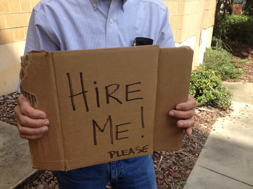 Hire Me sign.JPG