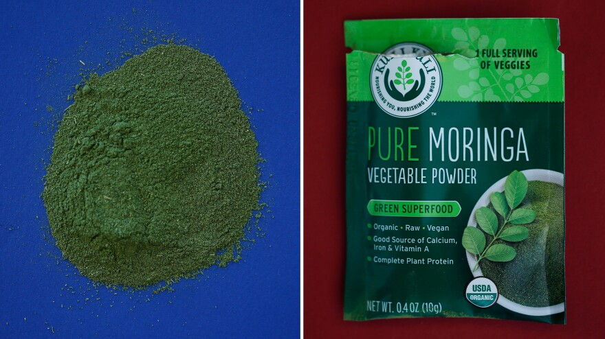 Powder, tea bags, energy bars — these are some of the ways that moringa is attempting to make inroads into the American diet.