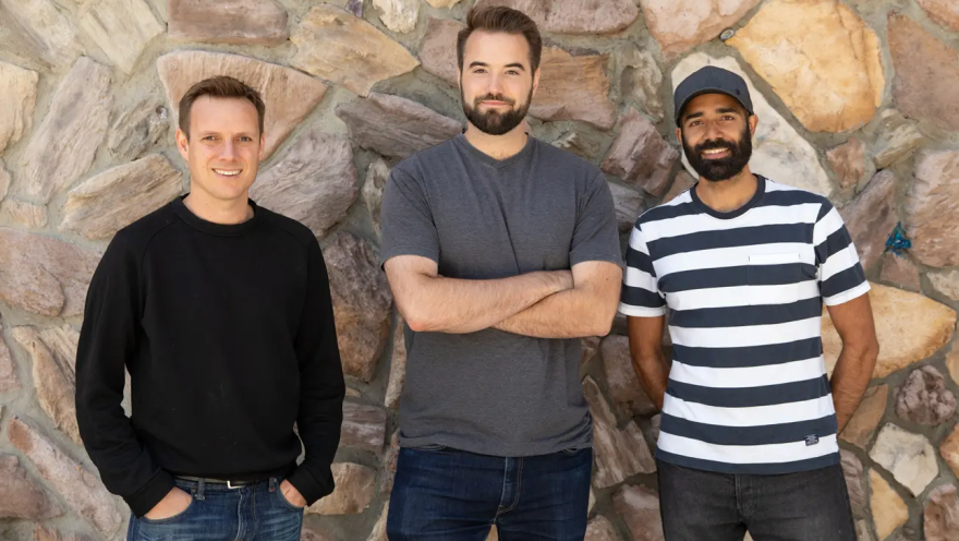 San Francisco-based Hamish McKenzie, Chris Best and Jairaj Sethi are the co-founders of email newsletter Substack, which seen its active writers more than double since the start of the pandemic.