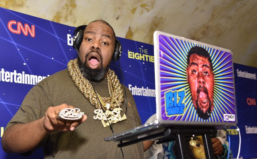 Music artist Biz Markie performs at EW & CNN 'The Eighties' Trivia Event at The Django at the Roxy Hotel on March 29, 2016 in New York City. (Mike Coppola/Getty Images for Entertainment W)