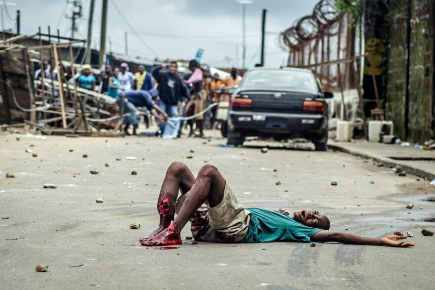 Shacki Kamara was shot by Liberian security forces during a riot in the slum of West Point. The 16-year-old later died of the wound.