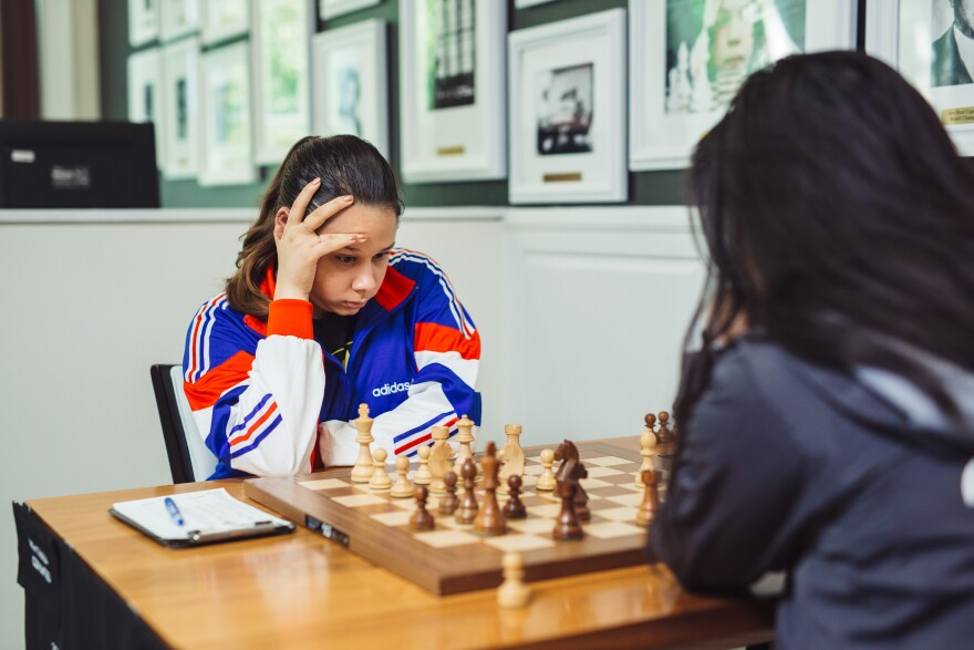 Chess prodigy Thalia Cervantes started playing in Cuba where she says the game runs through people's blood.