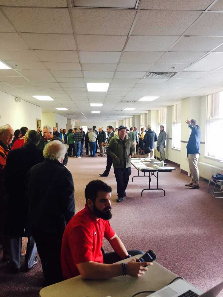 Auction of Rinkert Building in Canton