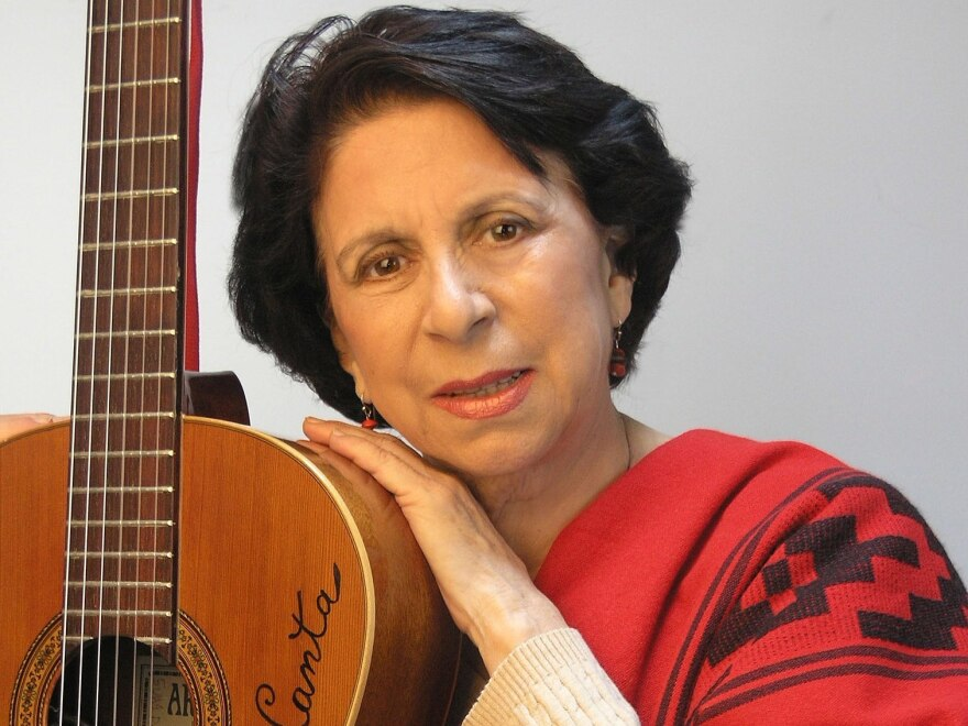Argentine singer-songwriter Suni Paz adds NEA recognition to a long career.