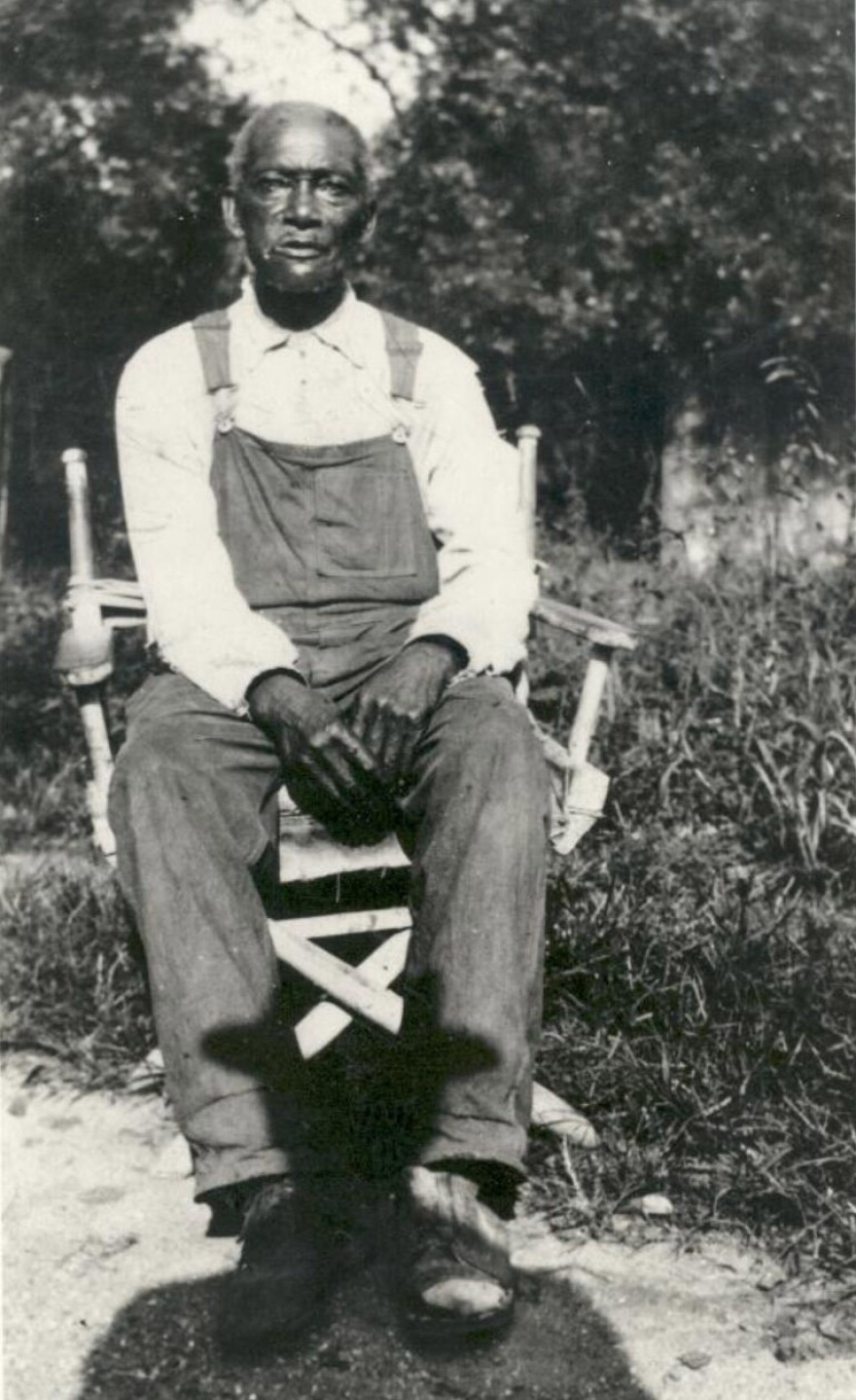 James Parks was born a slave on the Arlington estate. When the estate became Arlington National Cemetery, he stayed on as a freed man and dug graves.