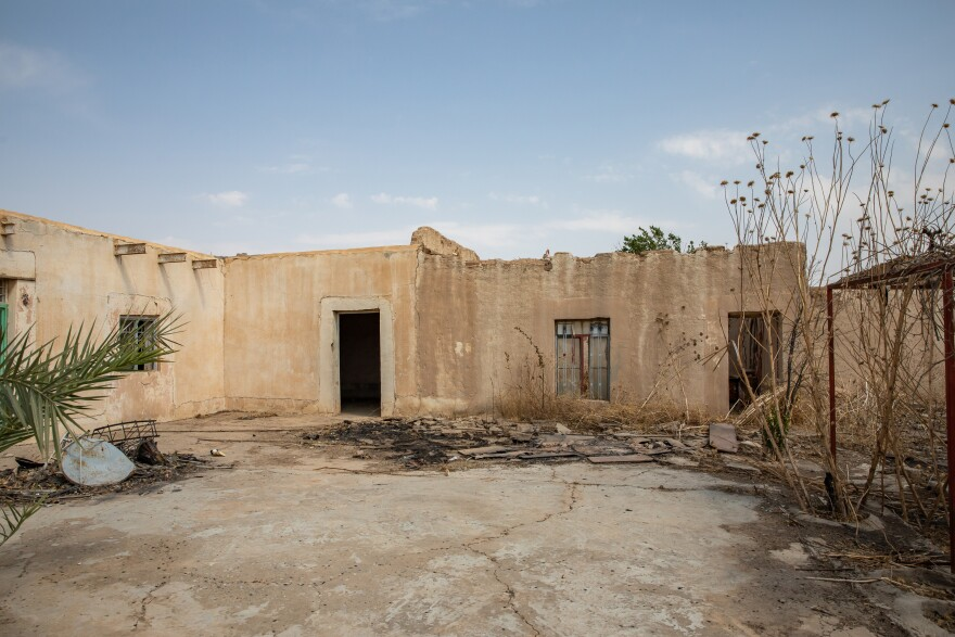 The Murad family home in Kocho, northern Iraq. ISIS was driven out in 2015, but the village which became synonymous with the ISIS genocide is deserted and its school turned into a museum.
