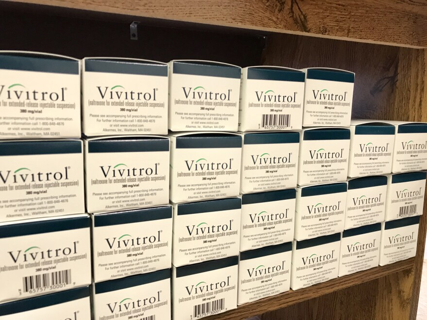 Vivitrol is the injectible form of the generic drug called Naltrexone. It can cost between $1,100 and $1,600 for a one-month dose.