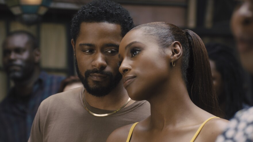 Michael (LaKeith Stanfield) and Mae (Issa Rae) look picture-perfect in <em>The Photograph</em>.