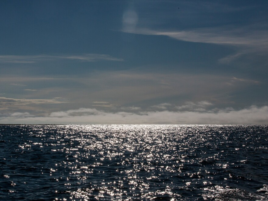 The Chukchi Sea is seen near Shishmaref, Alaska, in July 2015.