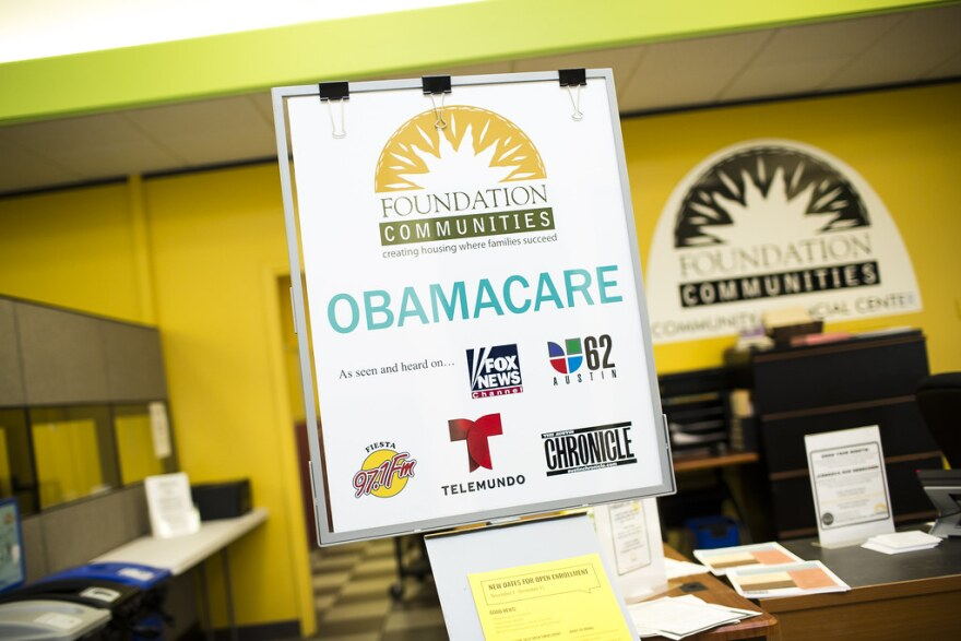 Sign for Obamacare at Foundation Communities