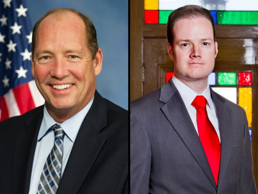 Ted Yoho (left) and Jake Rush (right)