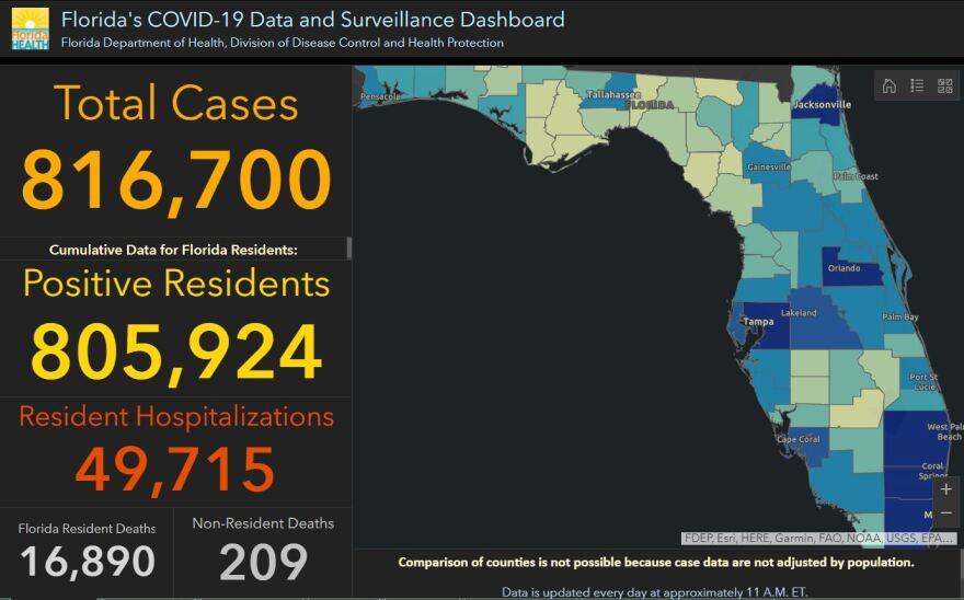 11-3-2020 Coronavirus dashboard