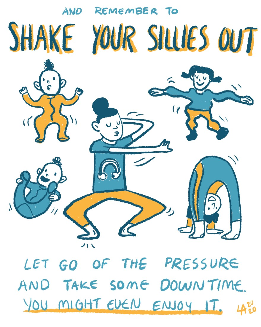 Shake your sillies out