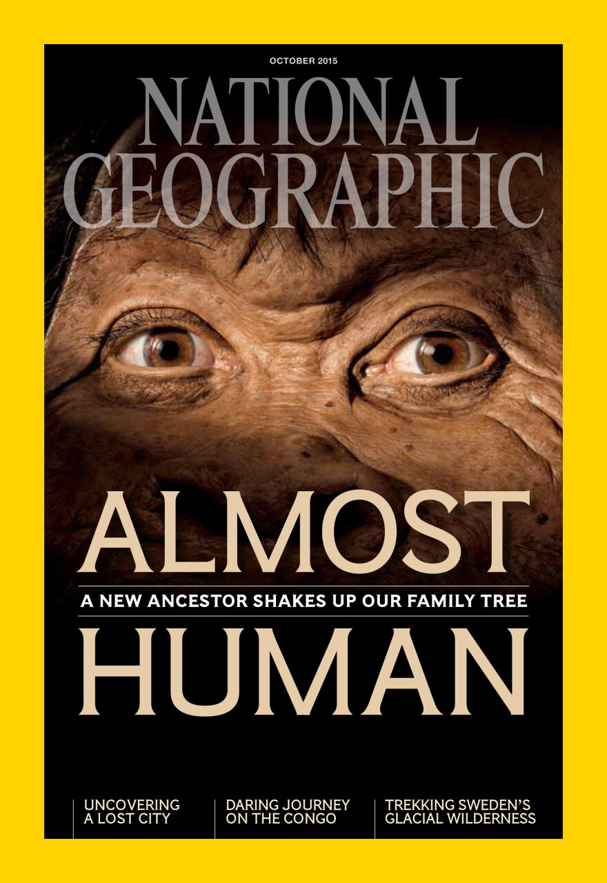 "More details of the discovery of <em>H. naledi</em> appear in <em>National Geographic</em> magazine. All images in this post are from the magazine's <a href=""http://natgeo.org/naledi"">October issue</a>."