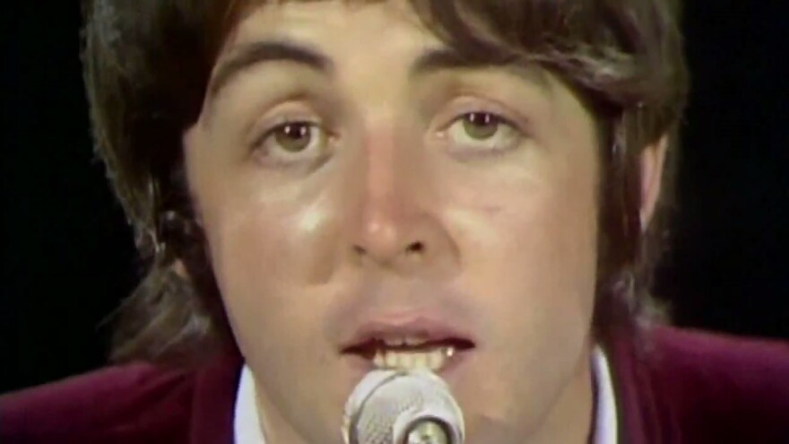 """The Beatles' """"Hey Jude"""" concludes with one of pop music's most epic fade-outs."""