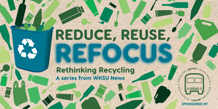 Reduce Reuse Refocus logo with Metro RTA logo