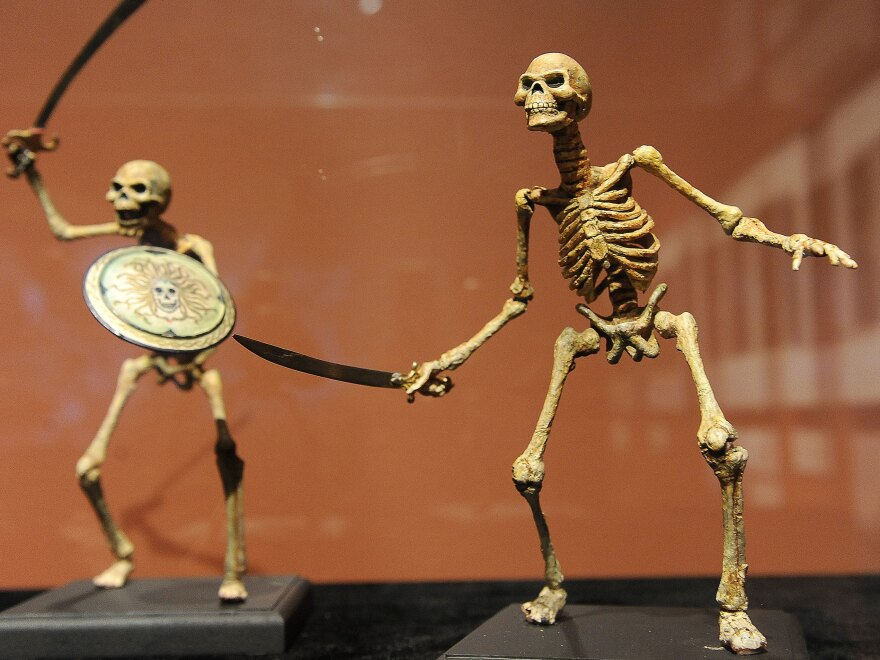 Harryhausen designed and animated the skeleton soldiers from 1963's <em>Jason and the Argonauts.</em>