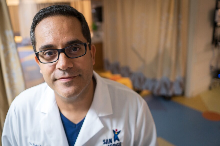 "Gynecological oncologist Dr. Pedro Escobar says his hospital had hundreds of patients scheduled to get chemotherapy or surgery in the coming weeks. If they don't, patients will be inoperable ""and the outcomes are not going to be good,"" he says."