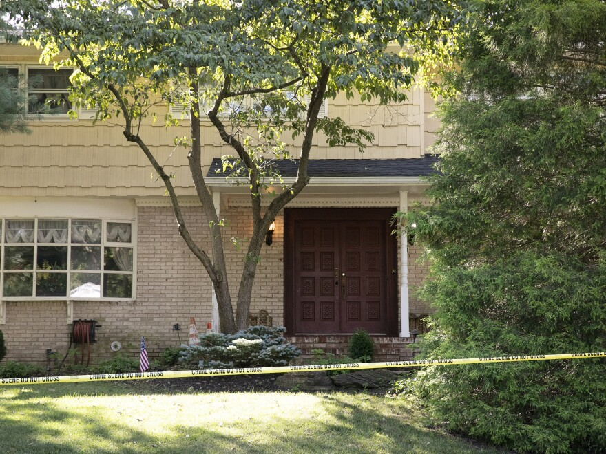 A gunman posing as a delivery person shot and killed Salas' 20-year-old son and wounded her husband last month at their New Jersey home before fleeing, according to judiciary officials.
