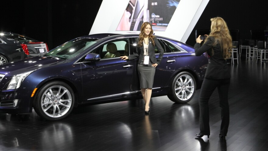 """Detroit Auto Show photographers sometimes mistake car designer Christine Park for a <a href=""""http://naias.mediaroom.com/index.php?s=27796&item=17555"""">spokesmodel</a>. """"It's a very male-dominated field,"""" she says, """"so it's something that people don't expect."""""""