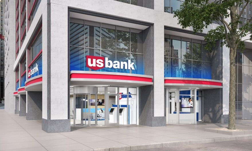 U.S. Bank retail location rendering.