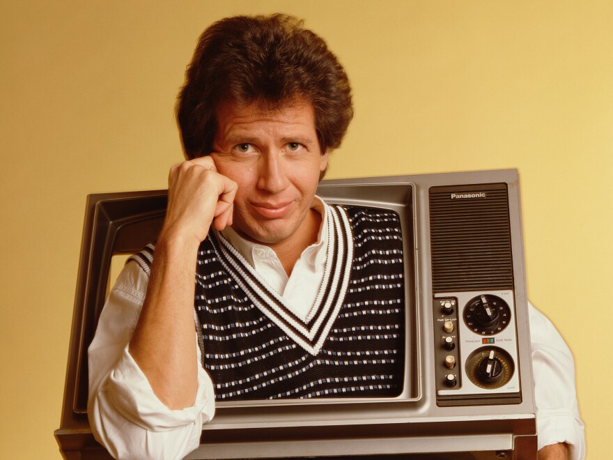 "Filmmaker Judd Apatow describes his mentor, the comedian Garry Shandling (above), as a perfectionist: ""He just could not just be chill and make it easy on himself. He wanted everything to be amazing."""