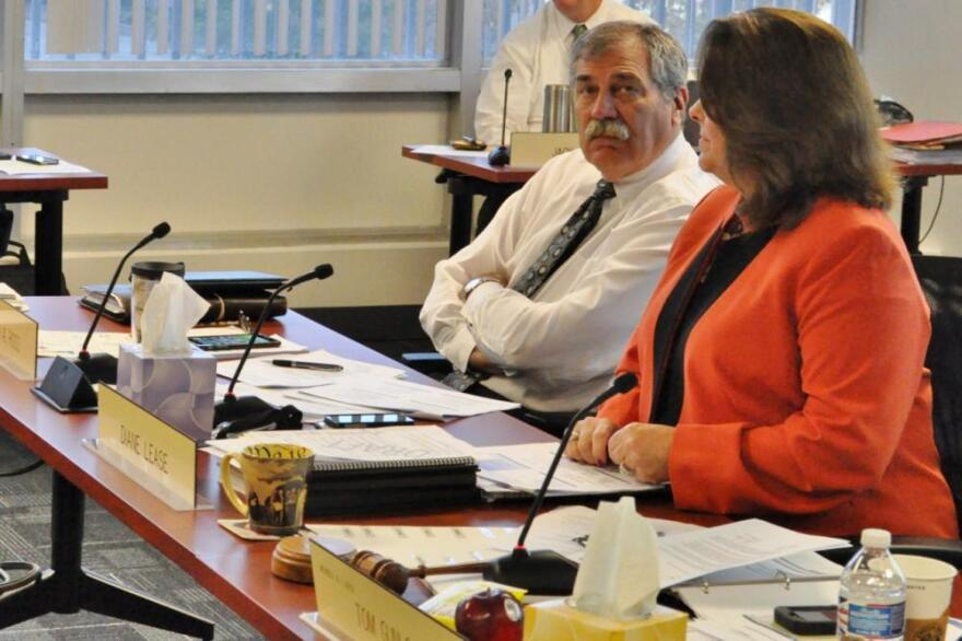 State Superintendent Richard Ross takes questions from the Ohio Board of Education during its meetings this week.