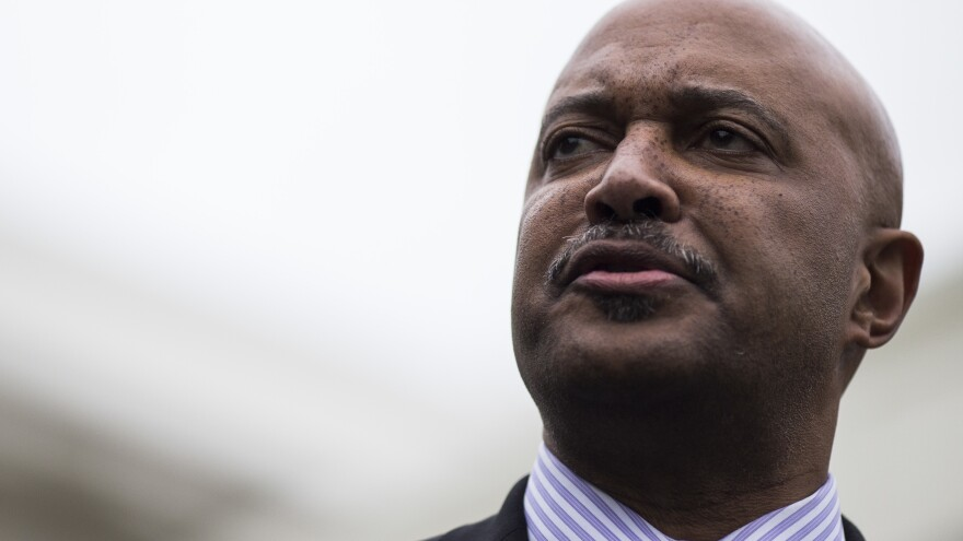 Four women, including a state lawmaker, have accused Indiana Attorney General Curtis Hill of sexual misconduct. Hill denies the charges and has called for an investigation.