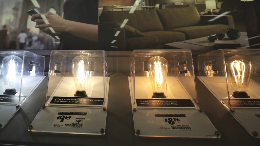 The Energy Department is reversing energy-efficiency standards for lightbulbs that were set to take effect next year.