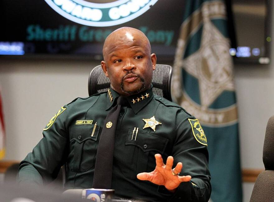 A letter to Broward County Sheriff Greg Tony was sent by a broad swath of civil rights groups on Thursday, demanding the sheriff release all nonviolent inmates and take other measures to decrease the jail population.