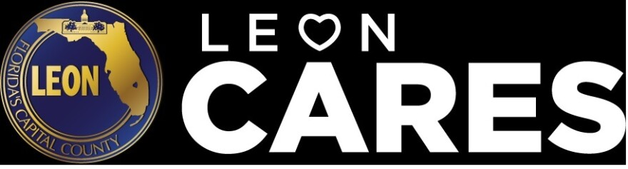 Logo for Leon County CARES program