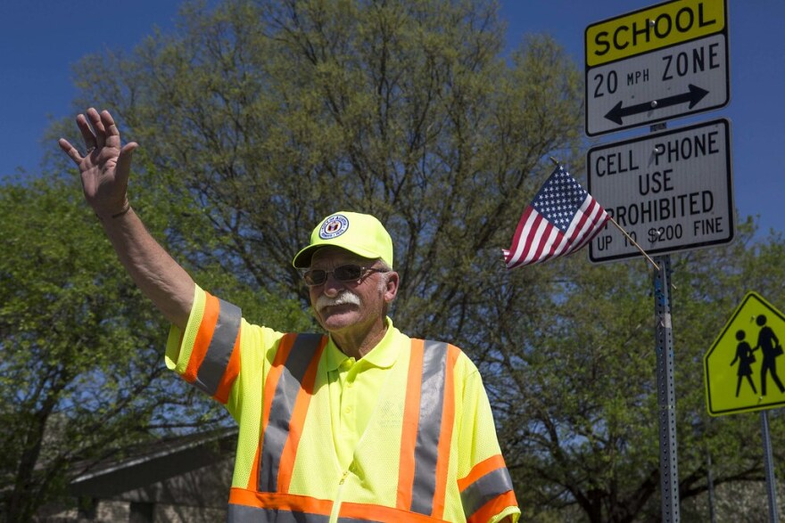Richard Tuttle, a longtime school crossing guard in Southeast Austin, died last week.